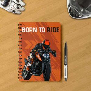 notebook for bikers Born to ride notebook for biker