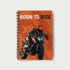Born to Ride – Notebook