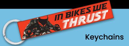 biker keychains