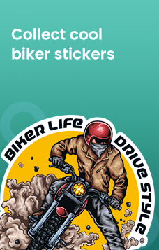 biker helmet stickers