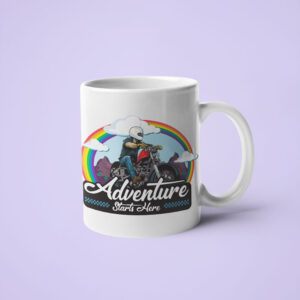 Adventure starts here – Coffee Mug