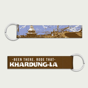 Been there Rode that – Khardunga La – Keychain