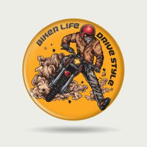 Biker Life Drive Style – Badge