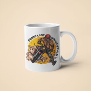Biker Life Drive Style – Coffee Mug