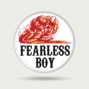 Really Fearless Boy – Badge