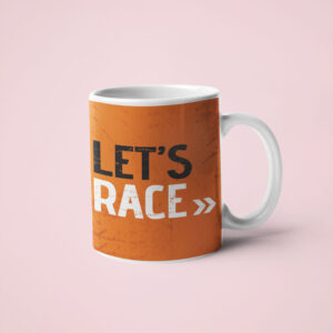 Let's RACE – Coffee Mug
