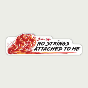 No strings attached to me – Sticker