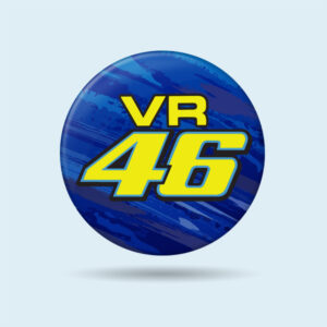 VR46 valentino rossi badge