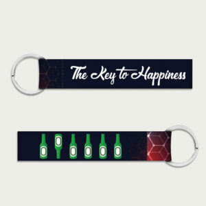 The key to happiness – Keychain