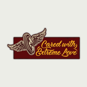 Cared with Extreme Love – Sticker