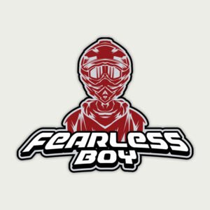 Fearless Boy – Sticker