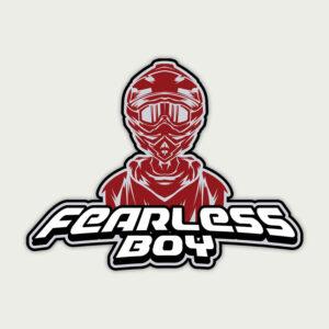Fearless Boy – Sticker