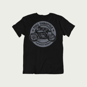 jawa t shirt India, bike riders t shirt, best bike site in india, vintage polo t shirt, Full Throttle tshirt,