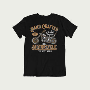 Hand Crafted Motorcycle – T Shirt