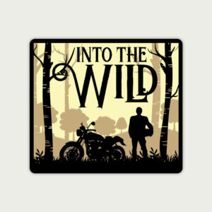 Into the wild – Sticker