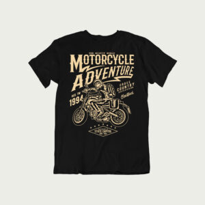 Motorcycle Adventure – T Shirt