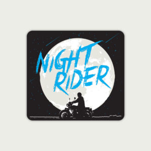 Night rider – Sticker