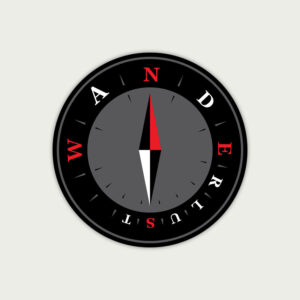 Wanderlust – Sticker