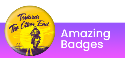 bike jacket badges