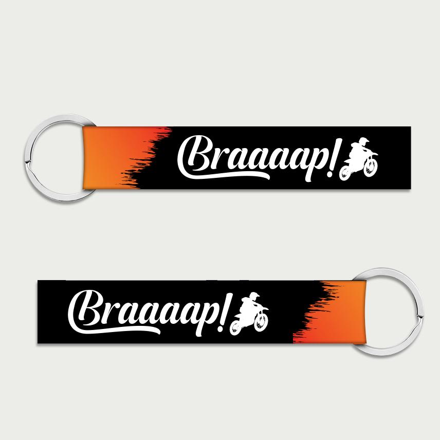 Brap Keychain
