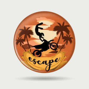 Escape – Badge