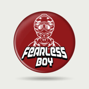 Fearless Boy – Badge