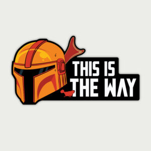 This is the way – Sticker