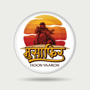 Musafir Hoon Yaaron – Badge
