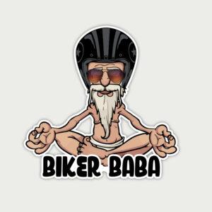 Biker Baba – Sticker
