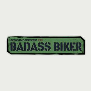 Badass biker – Sticker