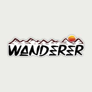 Wanderer – Sticker