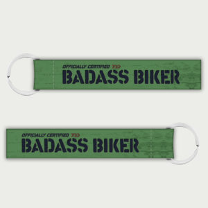 Badass biker – Keychain