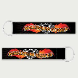 Maximum Power – Keychain