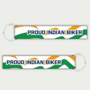Proud Indian Biker – Keychain
