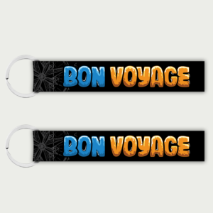 Bon Voyage – Keychain